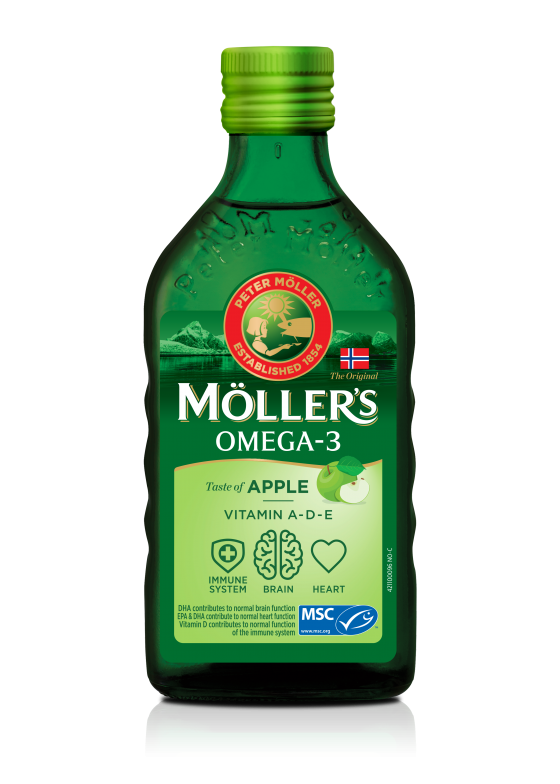mollers cod liver oil apple