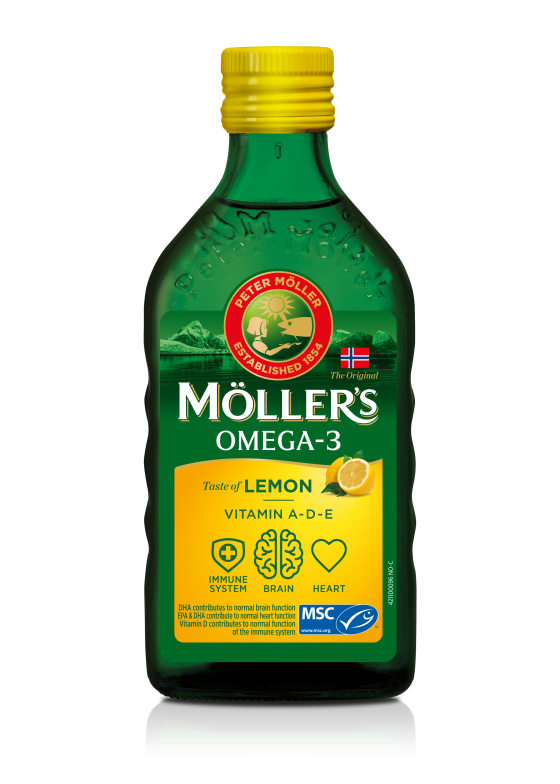 mollers cod liver oil lemon