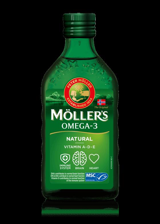 Minyak ikan dari Moller's sama sekali tidak amis karena memiliki rasa buah-buahan (Foto: Moller's)