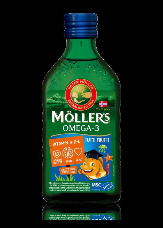 mollers cod liver oil tutti frutti