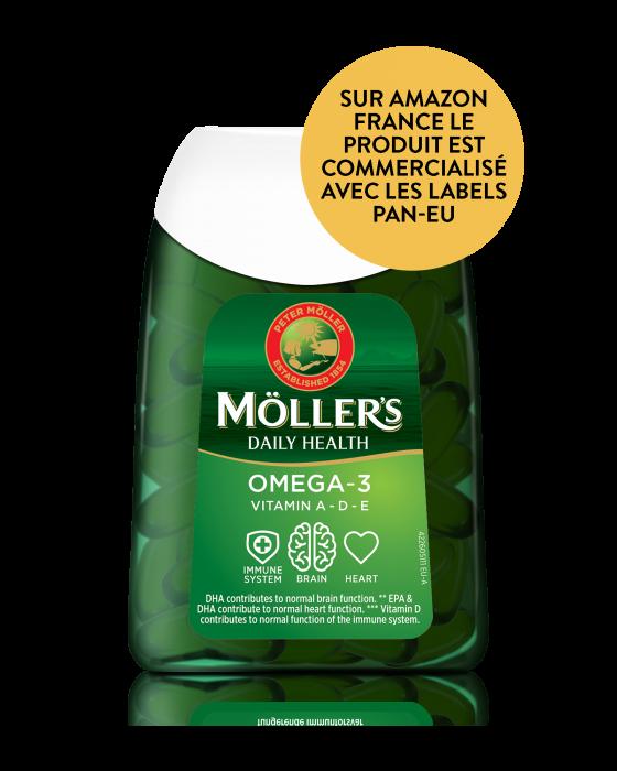 Capsules Daily Health Omega-3 Möller's